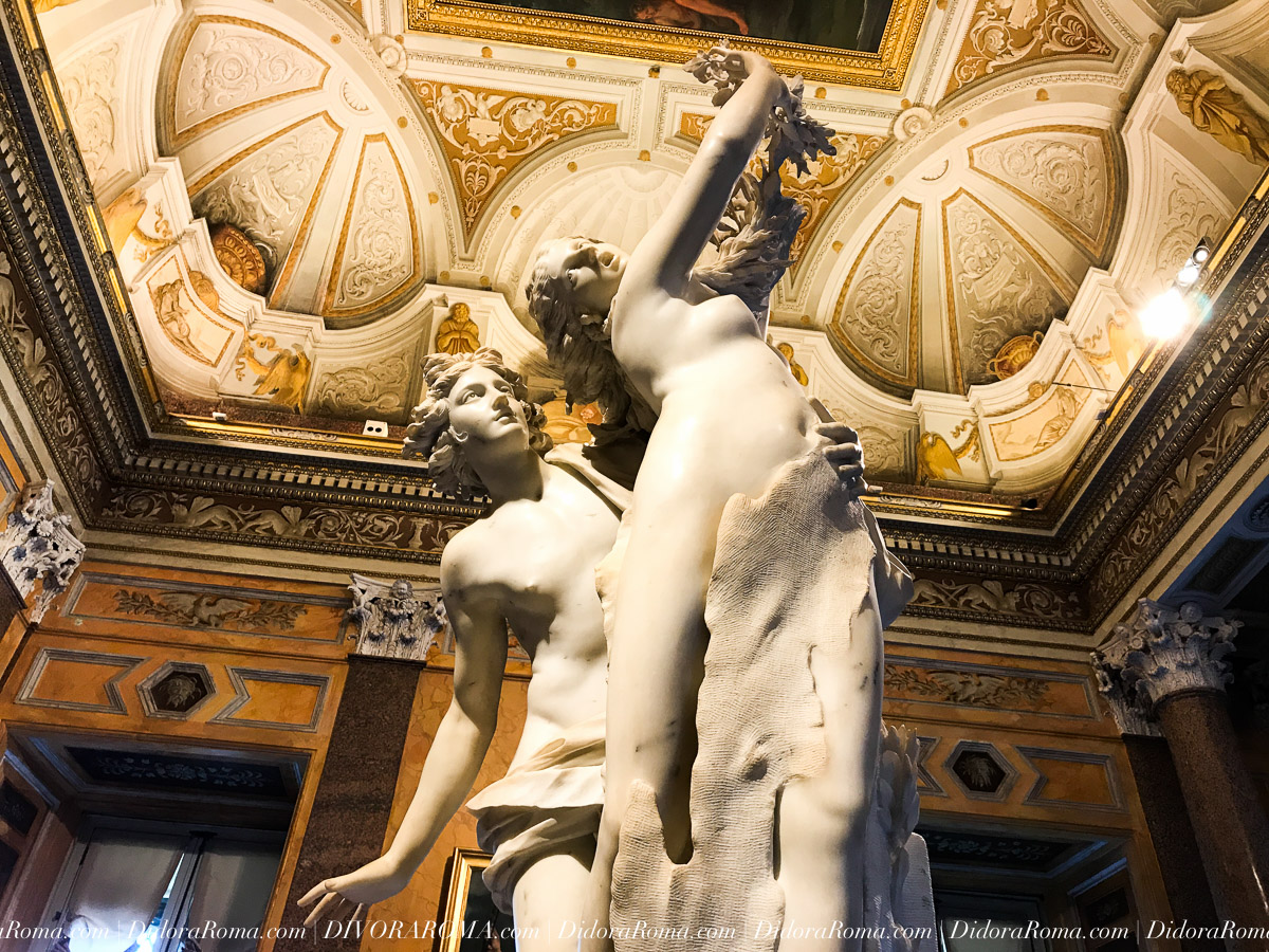 Borghese Gallery (DivoraRoma, May 2017)
