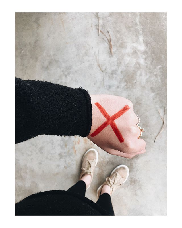 #ENDITMOVEMENT  02.22. today we stand alongside many across the globe fighting for freedom.  join us by marking your hand with a red X to bring awareness, prevention, rescue, & restoration to the millions who are Trapped, Trafficked, Exploited, & Enslaved.  together we can END IT ❌ #forfreedom
