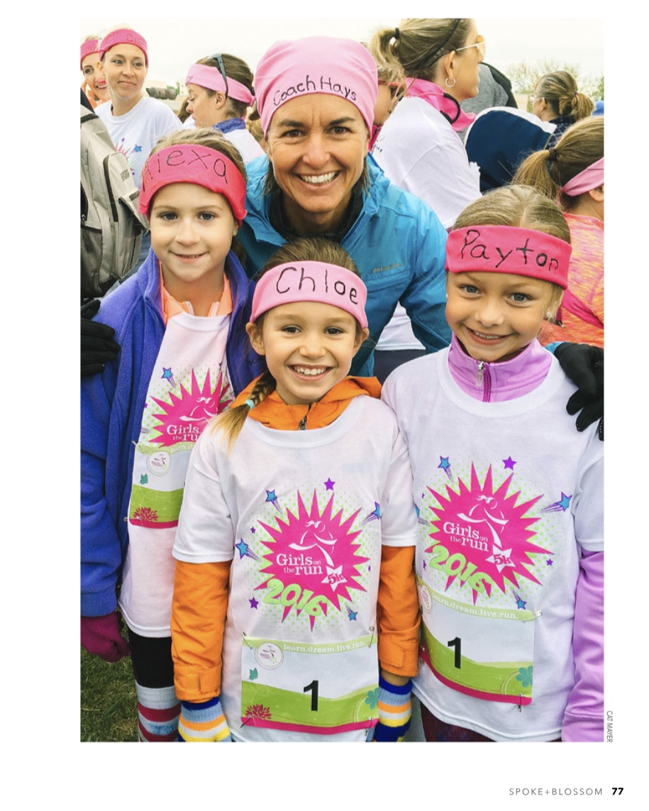 Teaching Girls to Run…And a Whole Lot More  Spoke + Blossom  Spring 2019 Issue  Page 2/4
