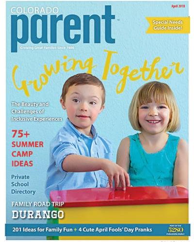 Type 2 Diabetes in Kids   Colorado Parent Magazine  April 2018 Issue