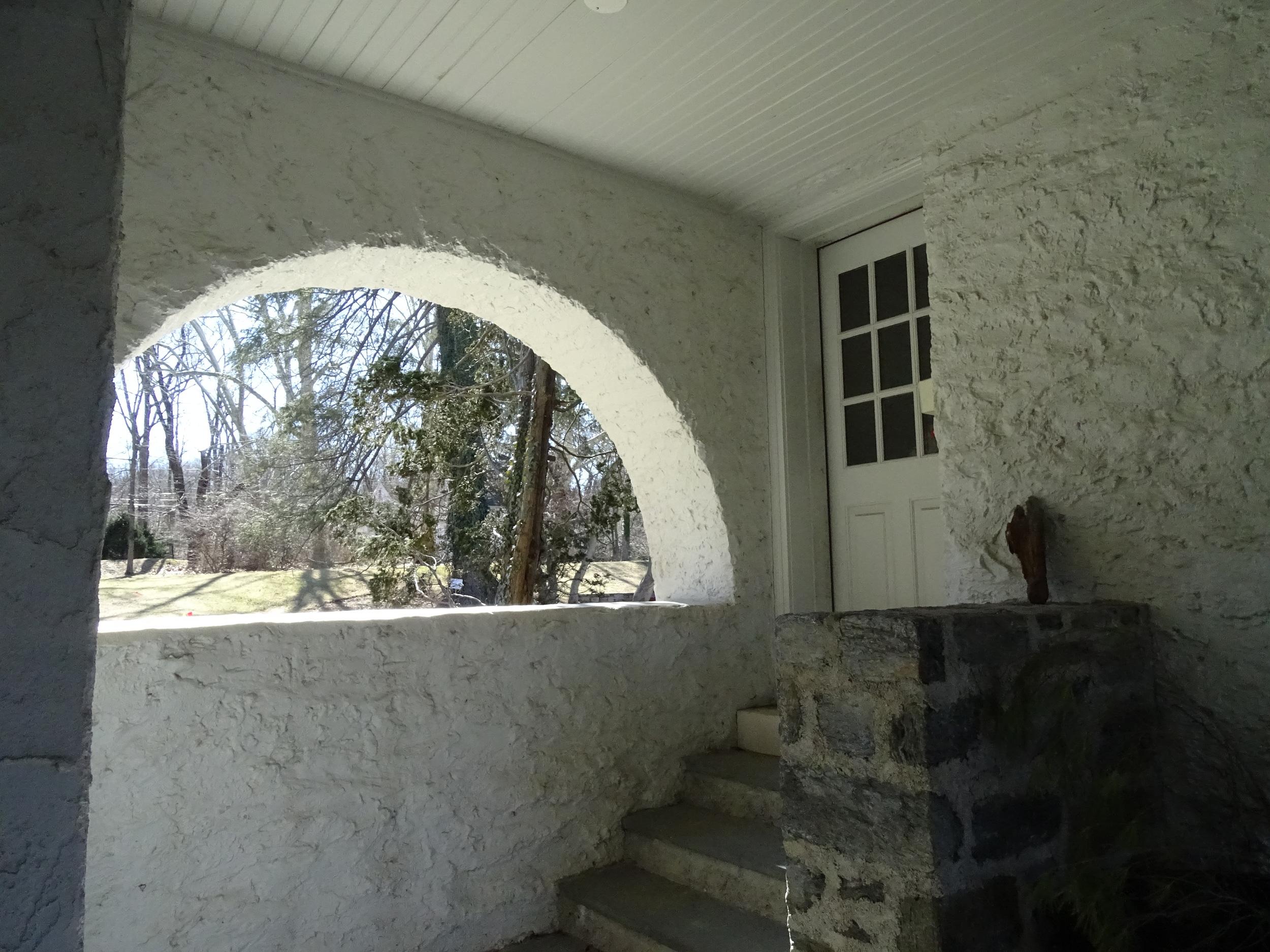 Entrance off Garage