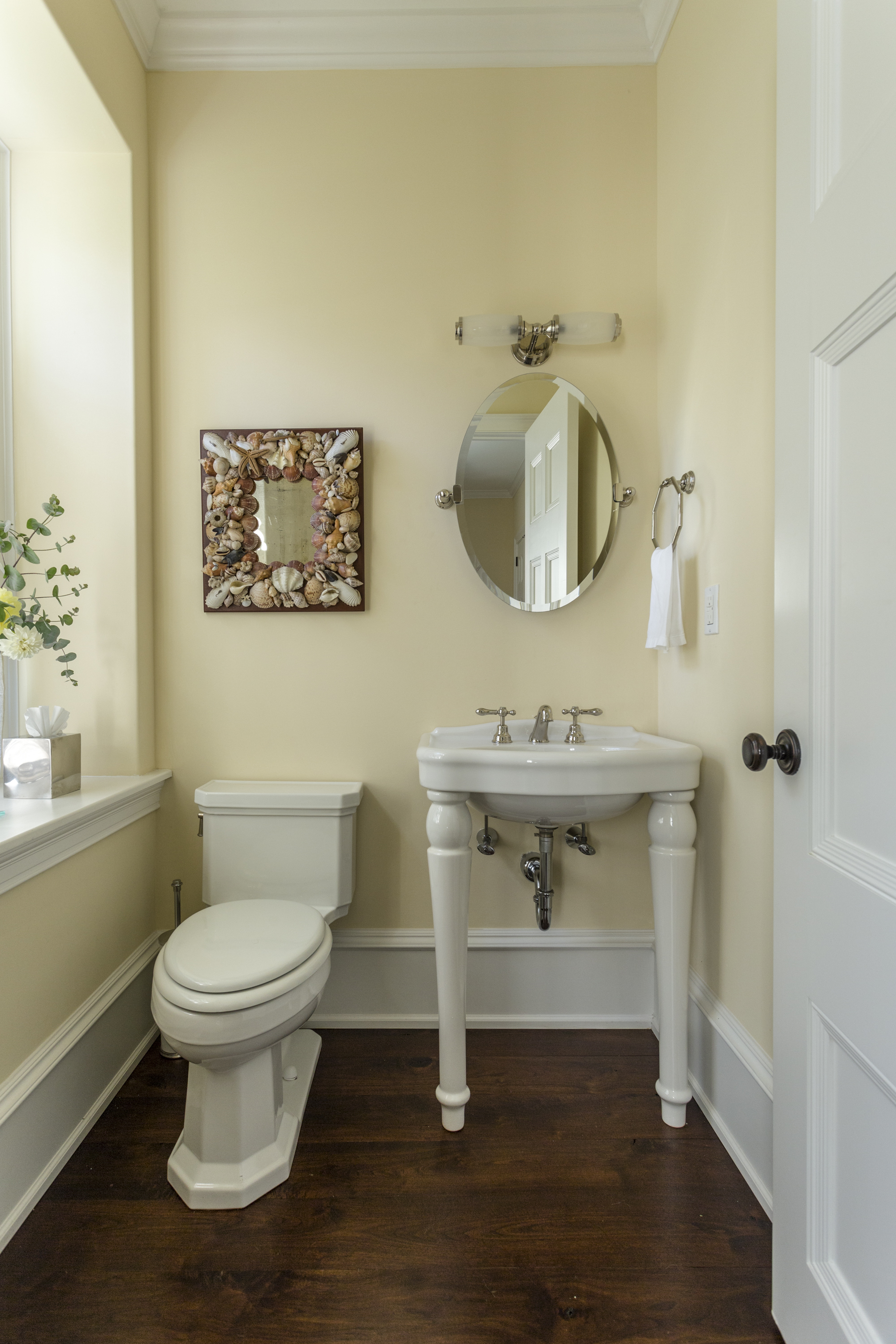 Informal Powder Room