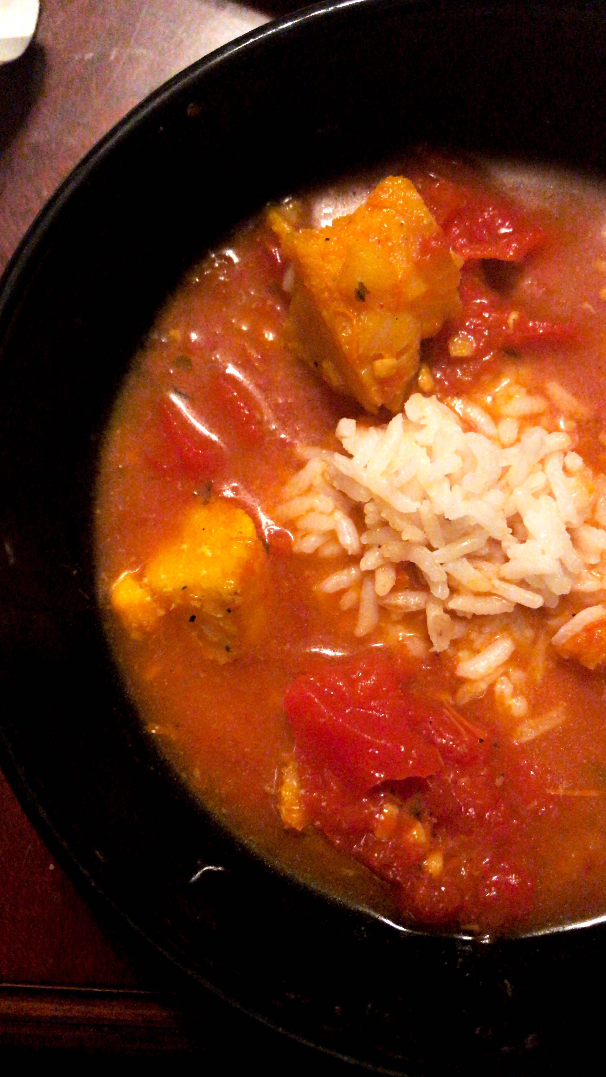 Feel free to serve with rice or potatoes to bulk up the soup and add another texture!