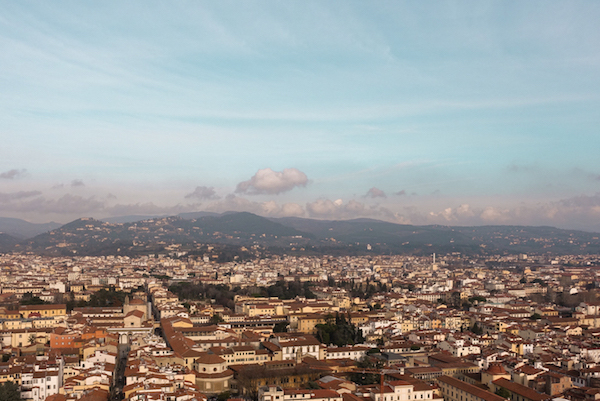 I also climbed to the top of the Duomo and wow, again.