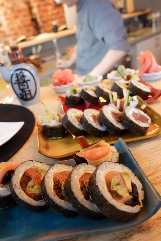 Sushi at So-An Sushi Club
