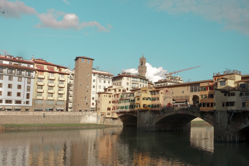 2.9.18. One of my many photos of the Ponte Vecchio