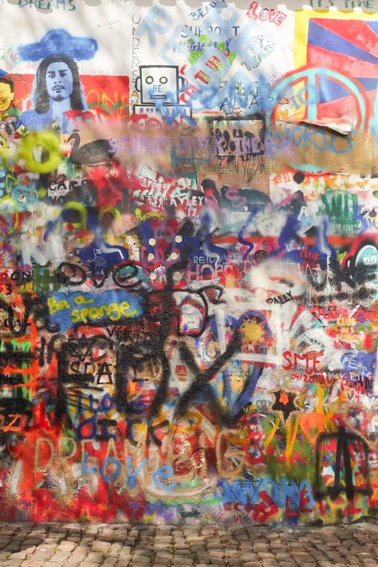 4.14.18. John Lennon Wall