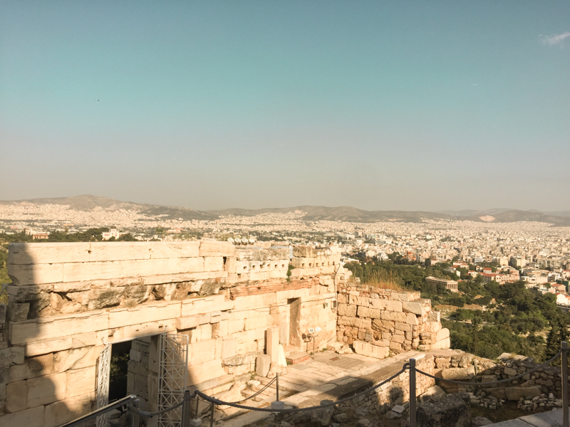 4.20.18. The view from The Acropolis