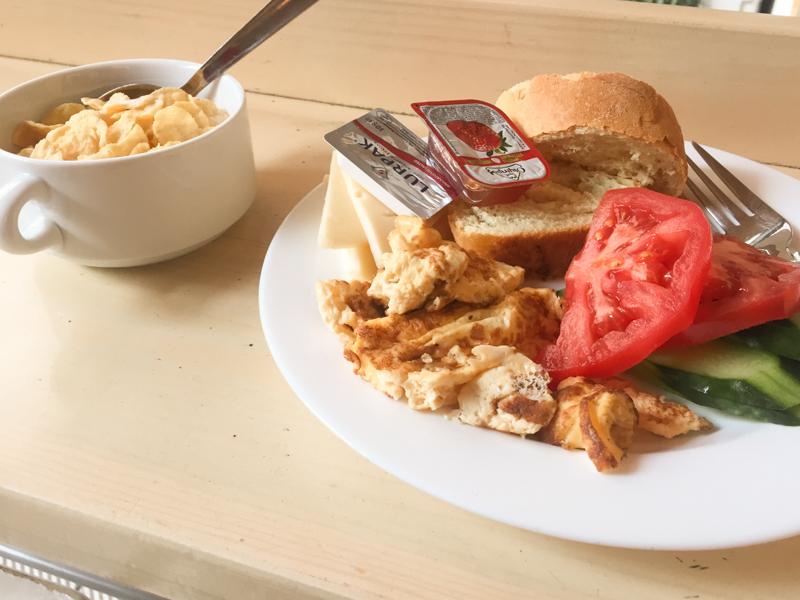 4.20.18. Simple hostel breakfast