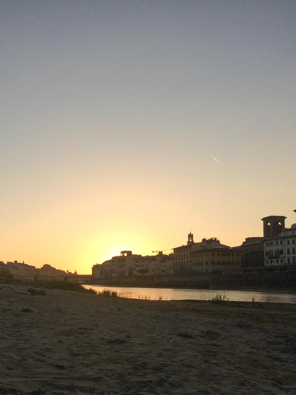 5.12.18. Sunset at the beach