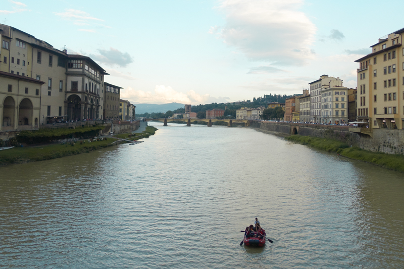 5.13.18. View from Ponte Vecchio