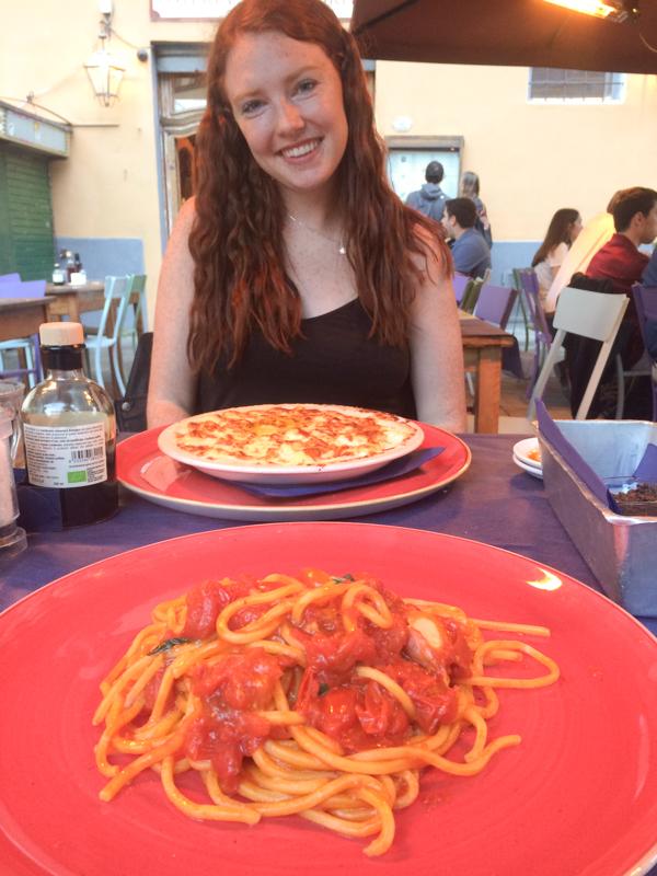 5.8.18.Oesteria Santa Spirito with Courtney