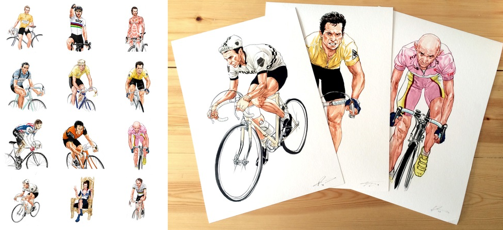 Cycle Stars. A Top Trumps card game published by Laurence King.