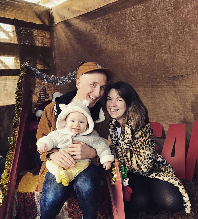 Fam #keepcyclingrad #tbonecycles #family #mum #dad #baby #dadandbaby #mumandbaby #cute #baby #babiesofinstagram #familytime #sunday #parent #leopardprint #carhartt