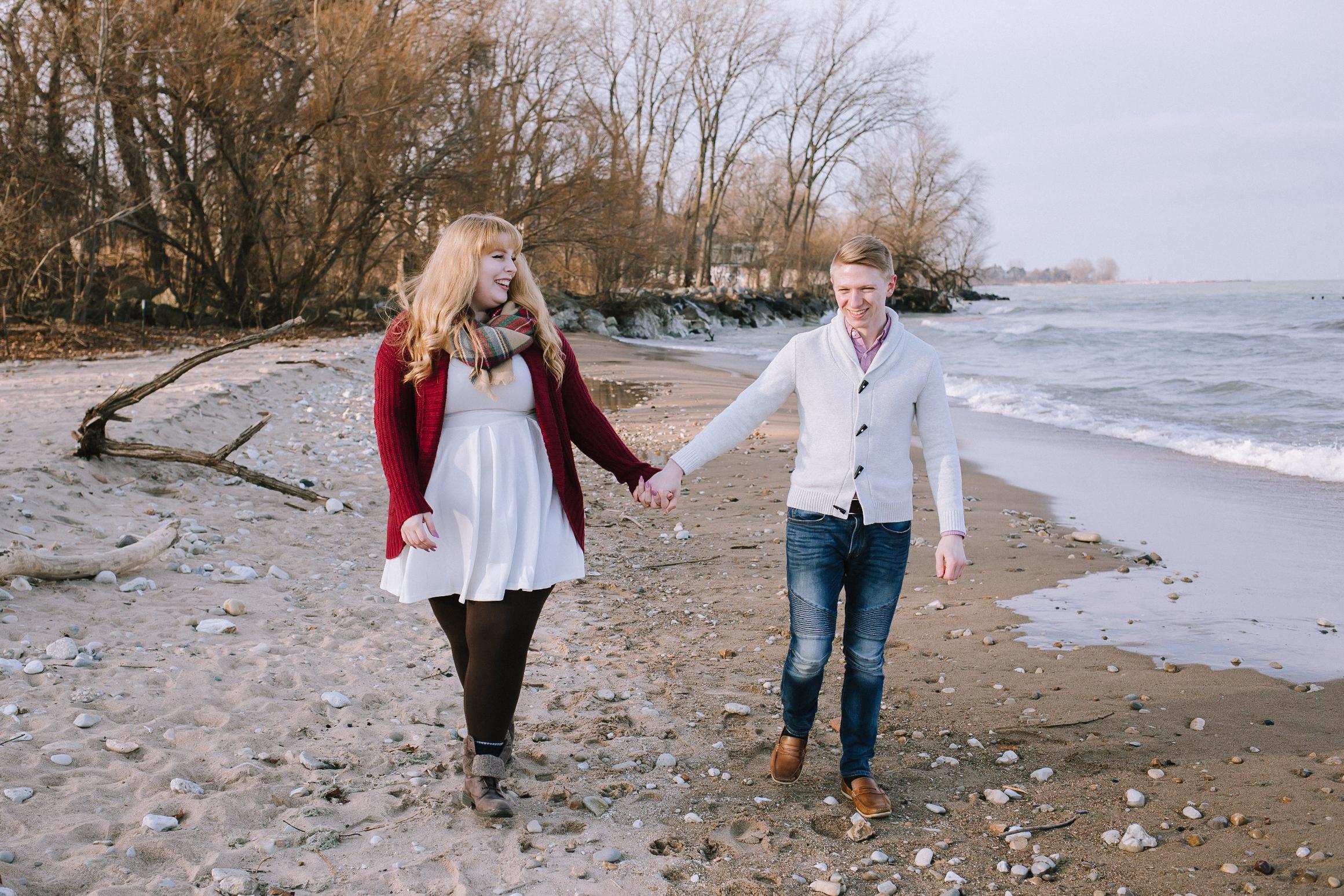 GerdeChicago Lighthouse Engagement, Kaitlin Powell Photography
