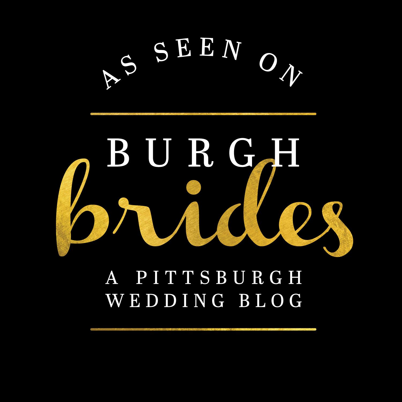 As Seen on Burgh Brides Pittsburgh Wedding Blog