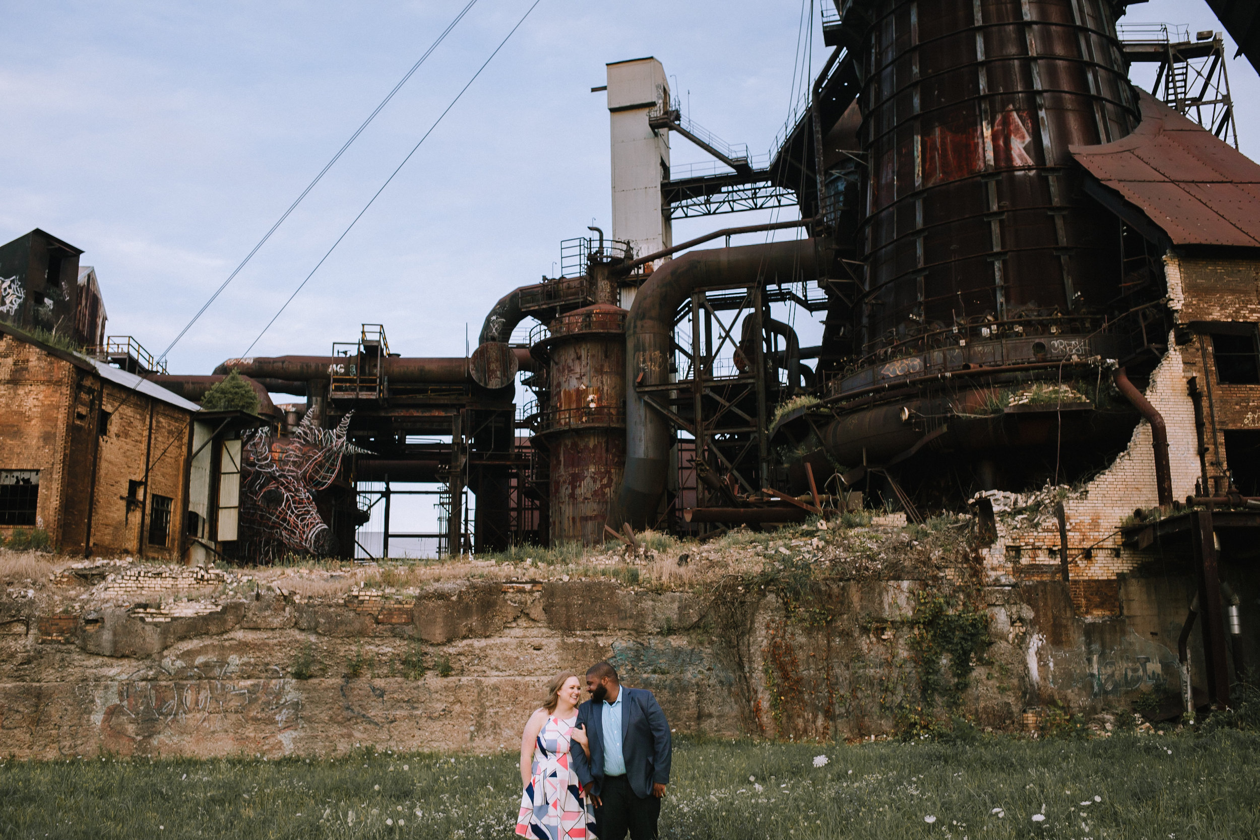 Carrie Furnace PGH Engagement