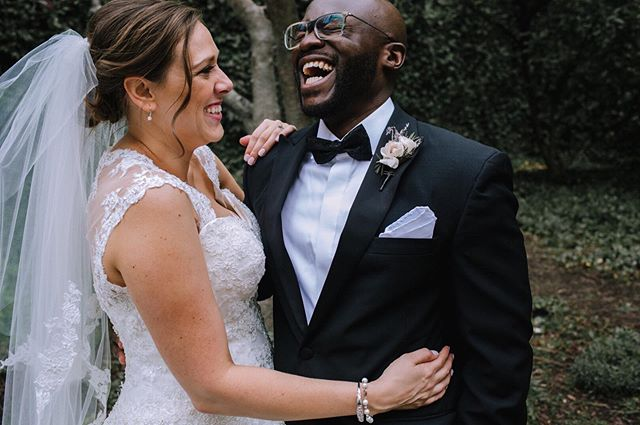Deep belly laughs. Give em' all to me! Get it Mr & Mrs Owusu!