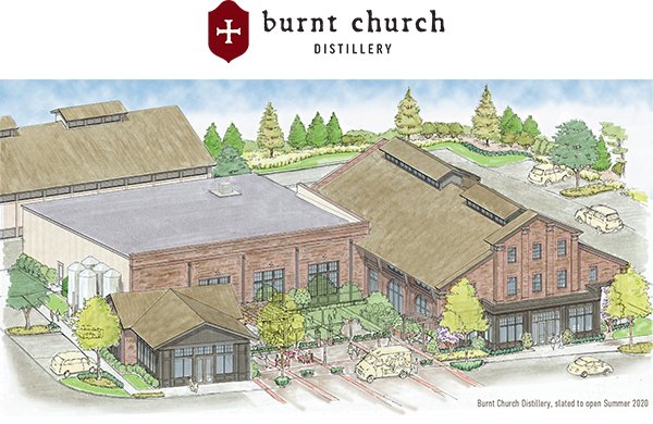 BURNT CHURCH DISTILLERY