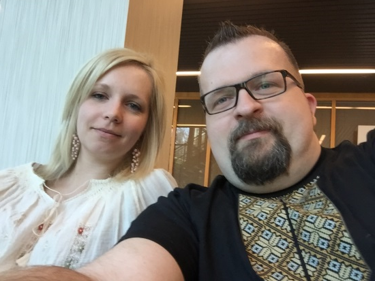 """Olesya and Rostyk Hursky   Olesya and Rostyk are the co-founders of Stream of Hopes and this organization and all of the people involved have quickly become a part of their lives. To learn more about them, you can read the """"Who we are"""" section of this website."""