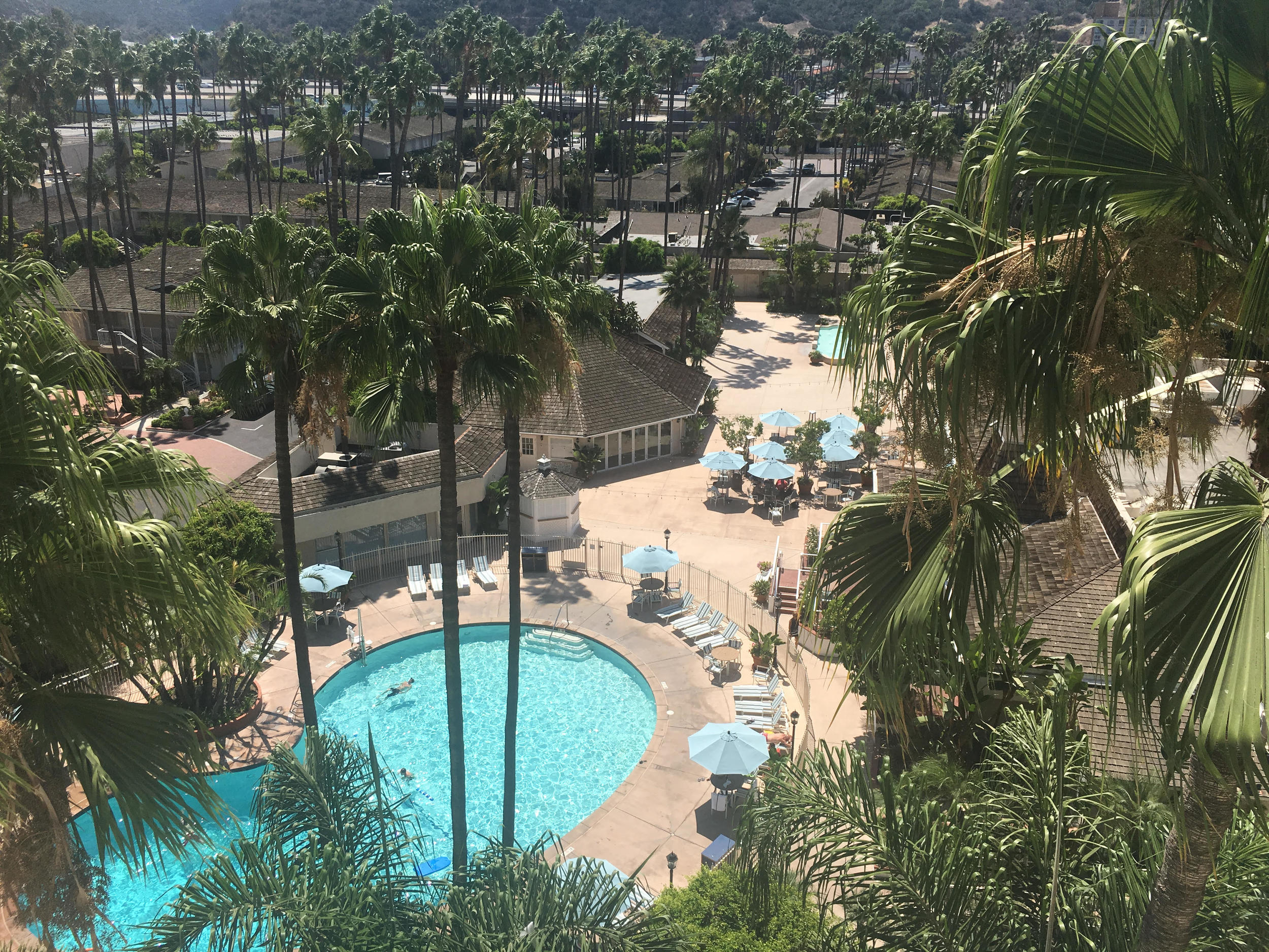 View of Town & Country Hotel San Diego