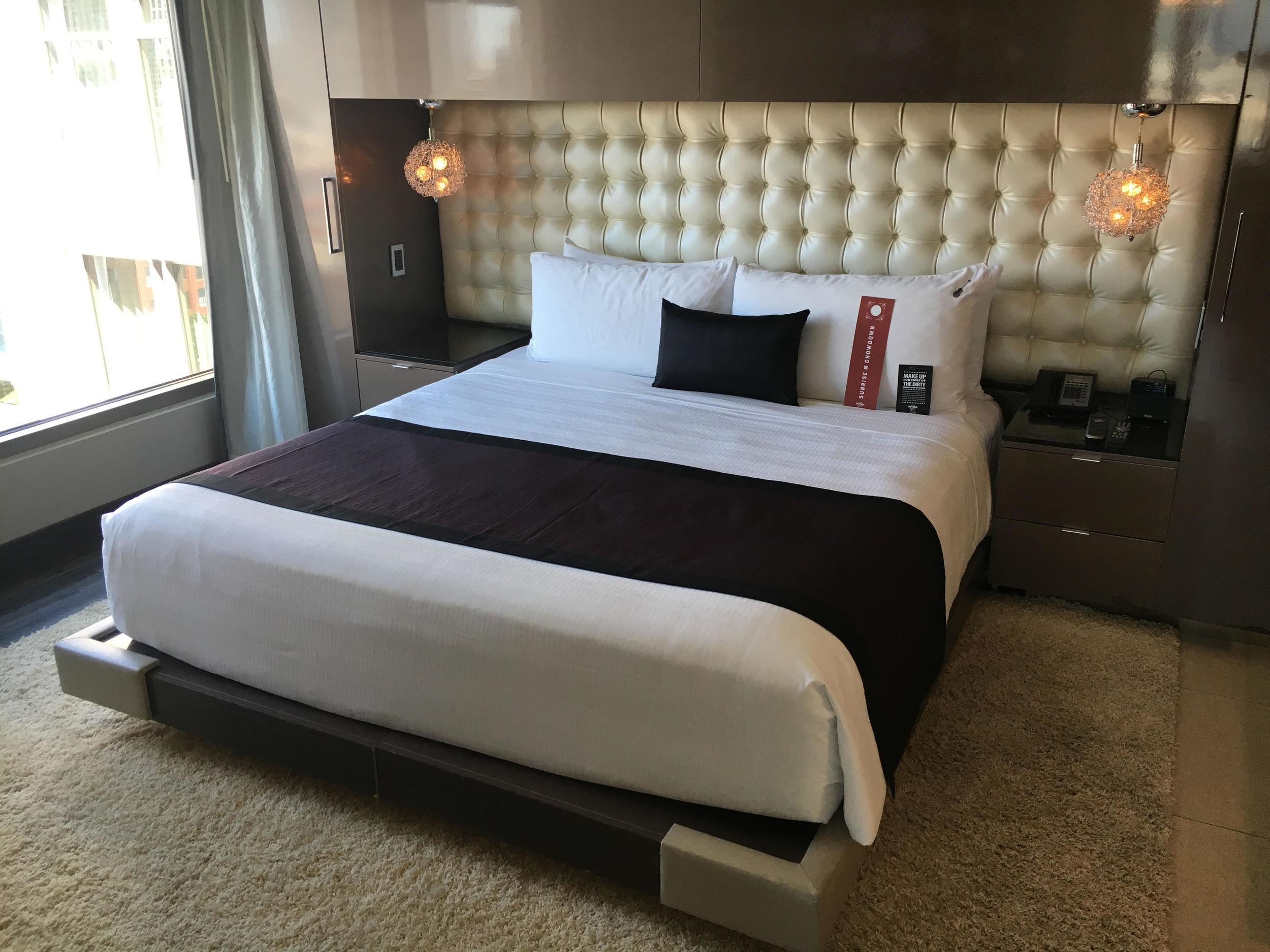 Suite Bedroom Hardrock Hotel San Diego