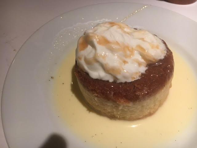 Dessert at Brio located in Victoria Gardens. FamTrip Greater Ontario CVB.