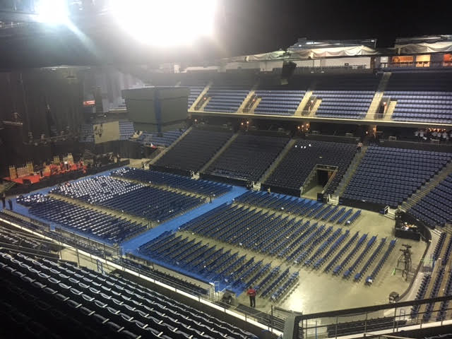 Citizen's Bank Arena can handle 10,000 people!. FamTrip Greater Ontario CVB