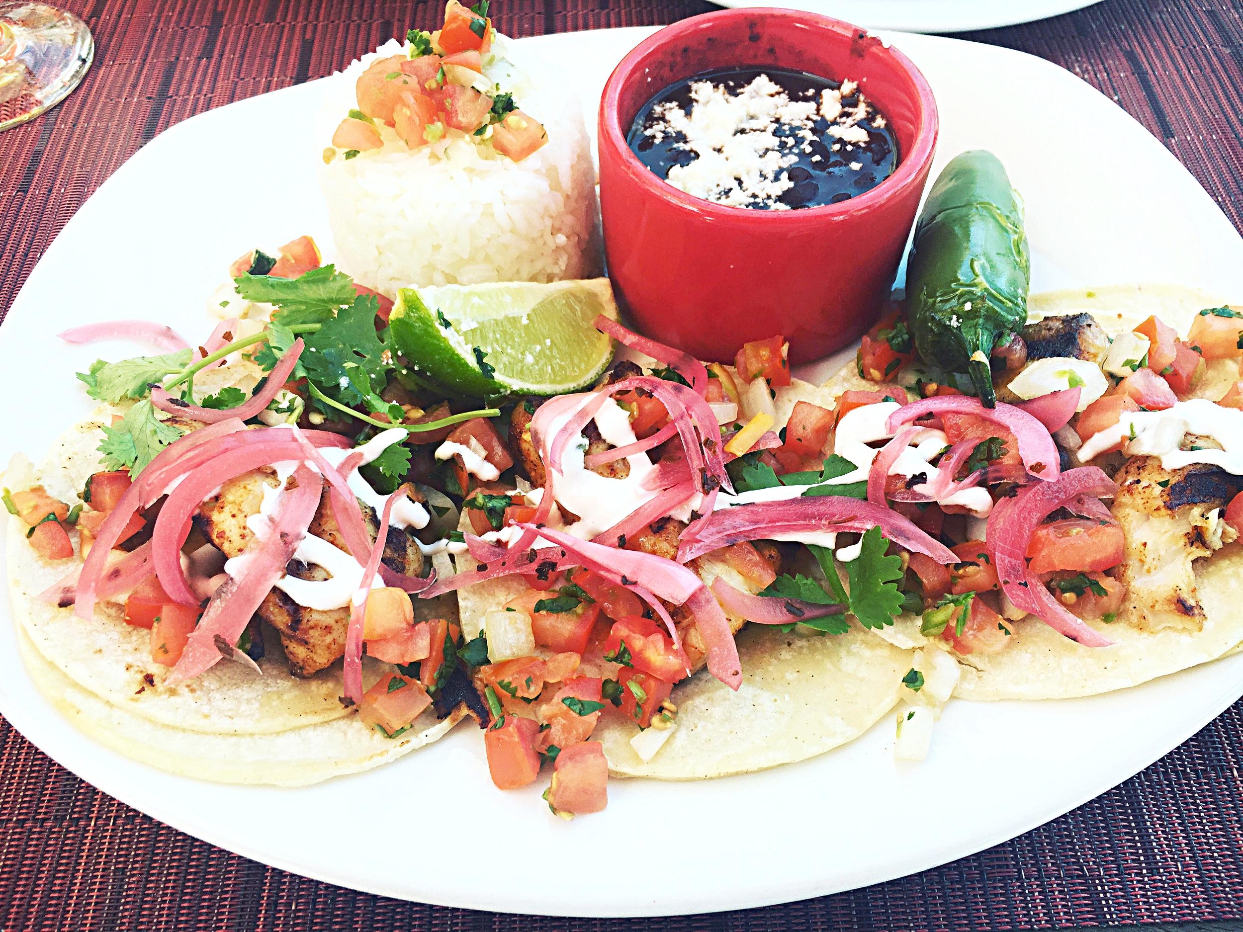 Tacos at Fuego's - Hotel Maya - Long Beach