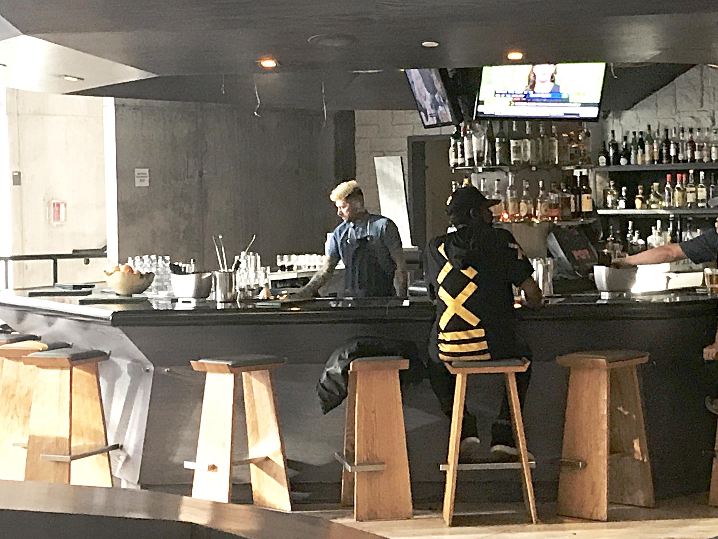 Lobby Bar at The Line Hotel.