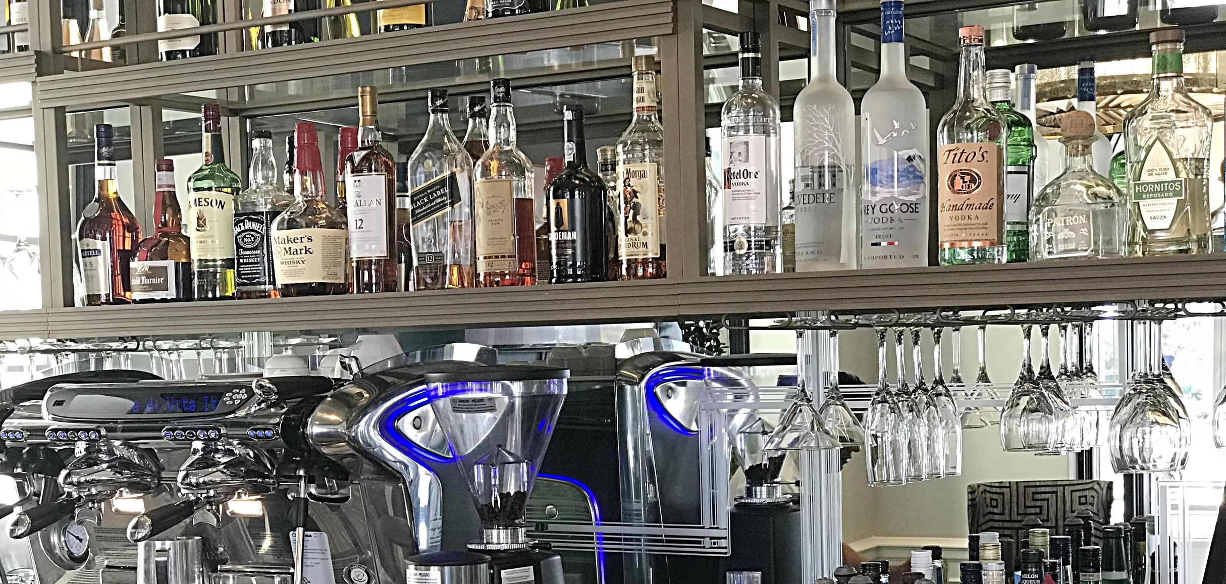 Newly added Lobby Bar! @GeorgianHotel Santa Monica