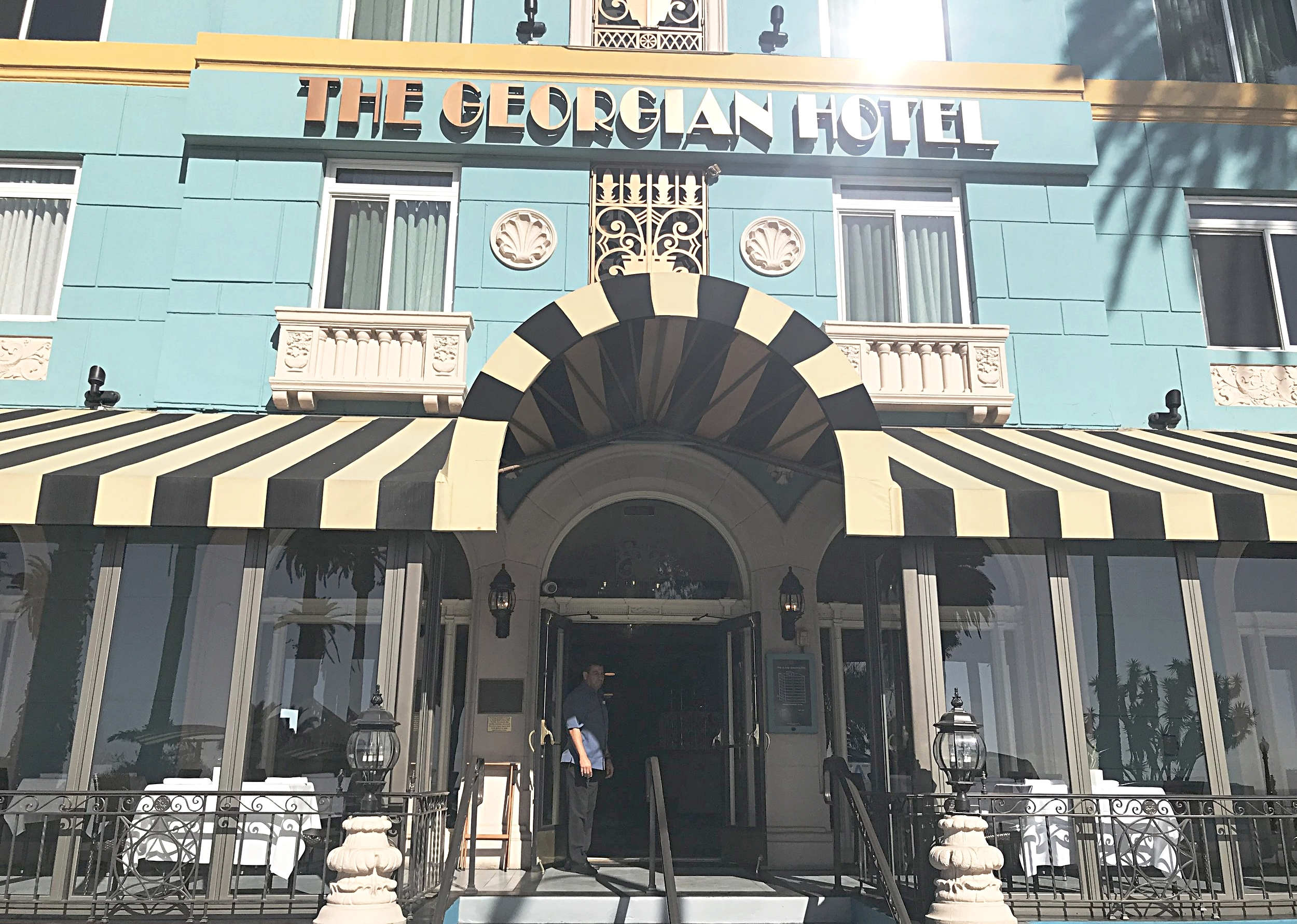 The Georgian, a Boutique hotel with 84 - guest rooms located on Ocean Blvd.