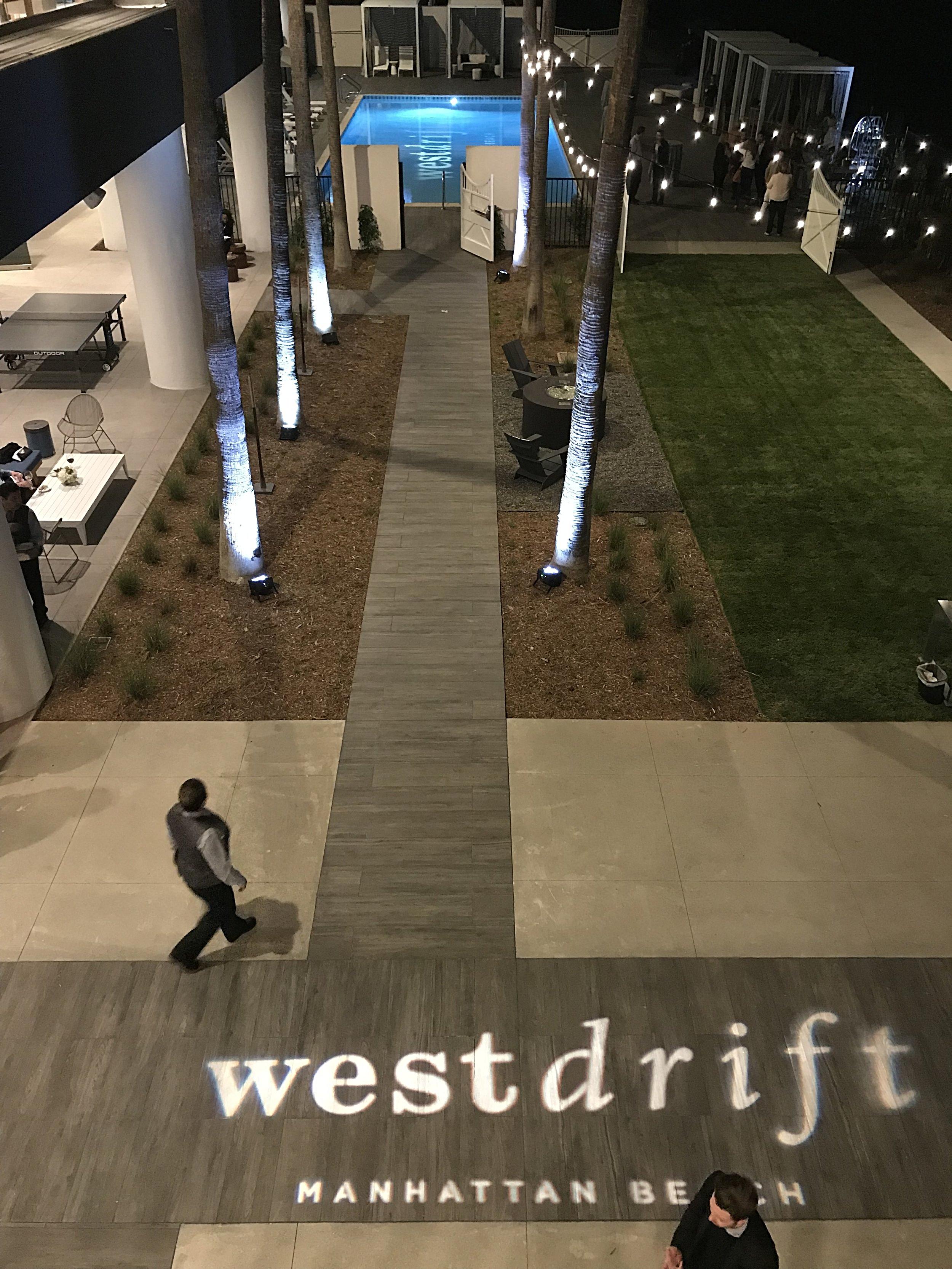 Over 30,000 square feet of outdoor & indoor event space @WestDrift Hotel - Manhattan Beach