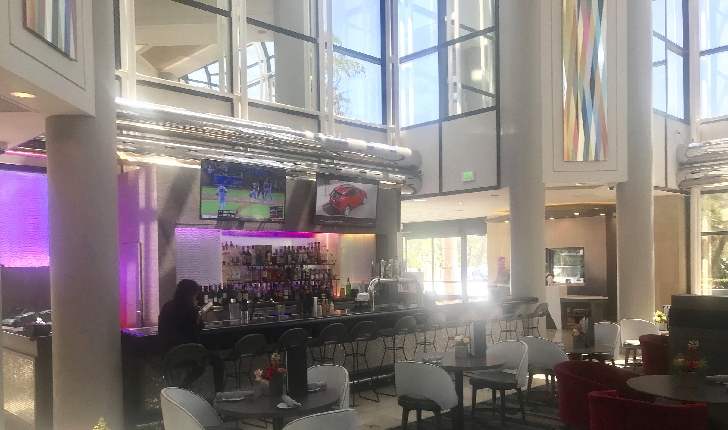 Bar & Lounge has been recently remodeled