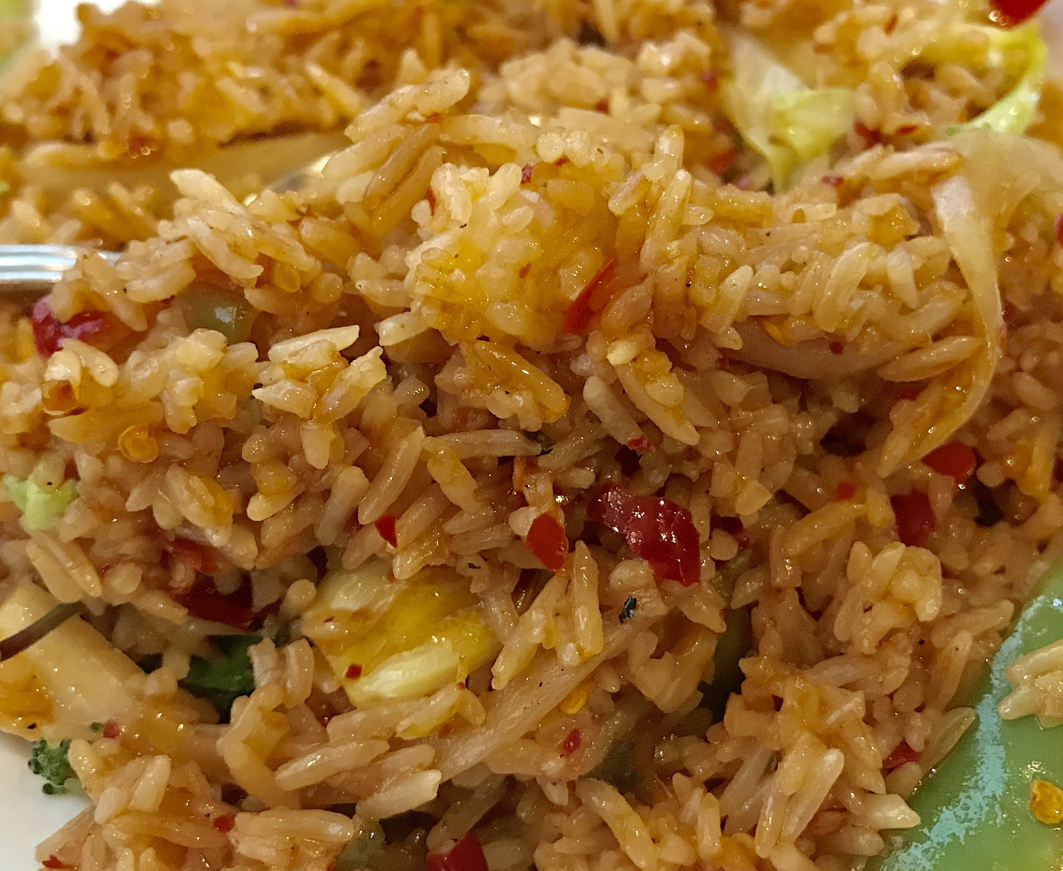 Spicy Fried rice with veggies @ThaiDishes #Foodie