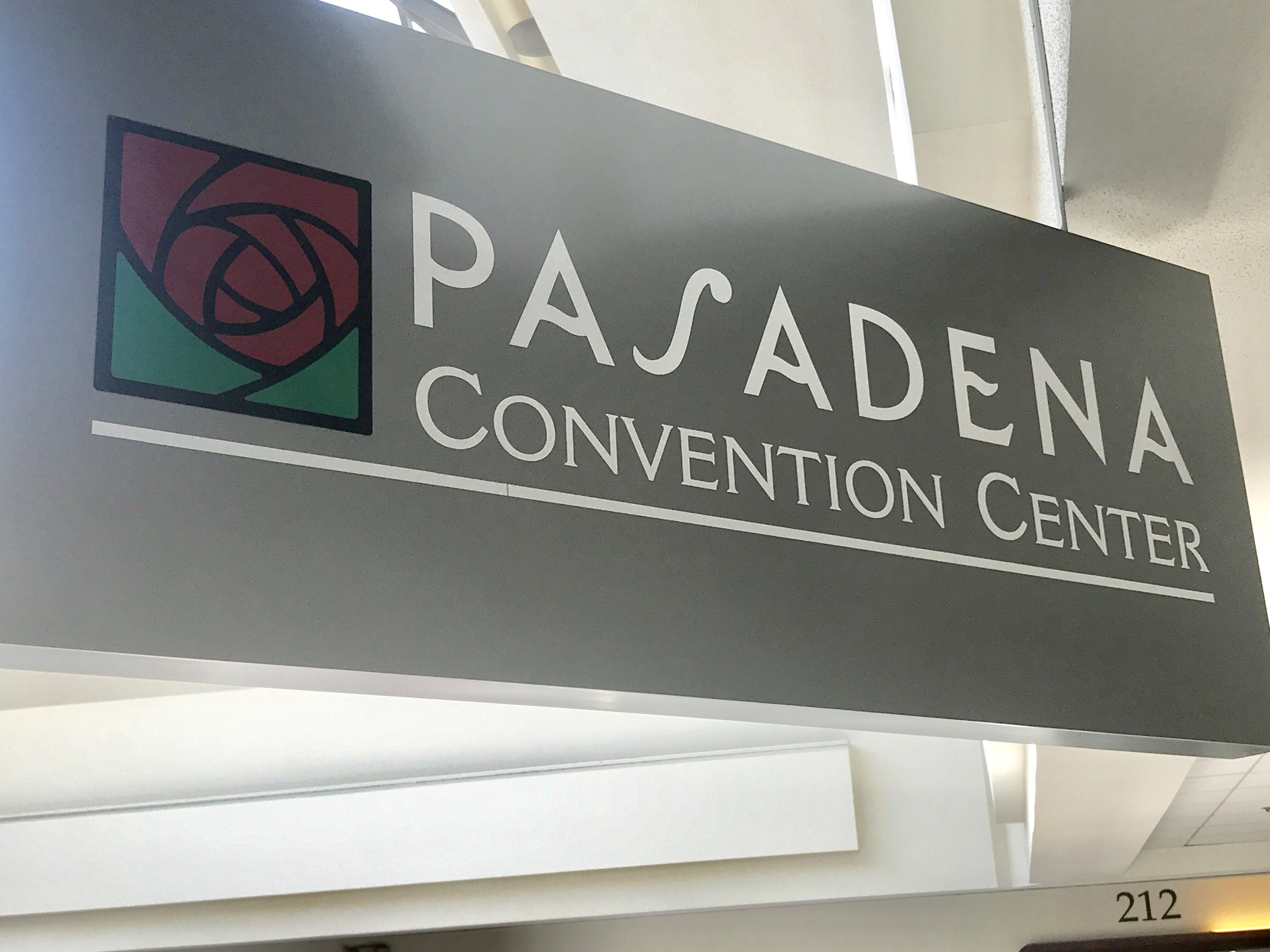 Site Tour of the Pasadena Convention Center.