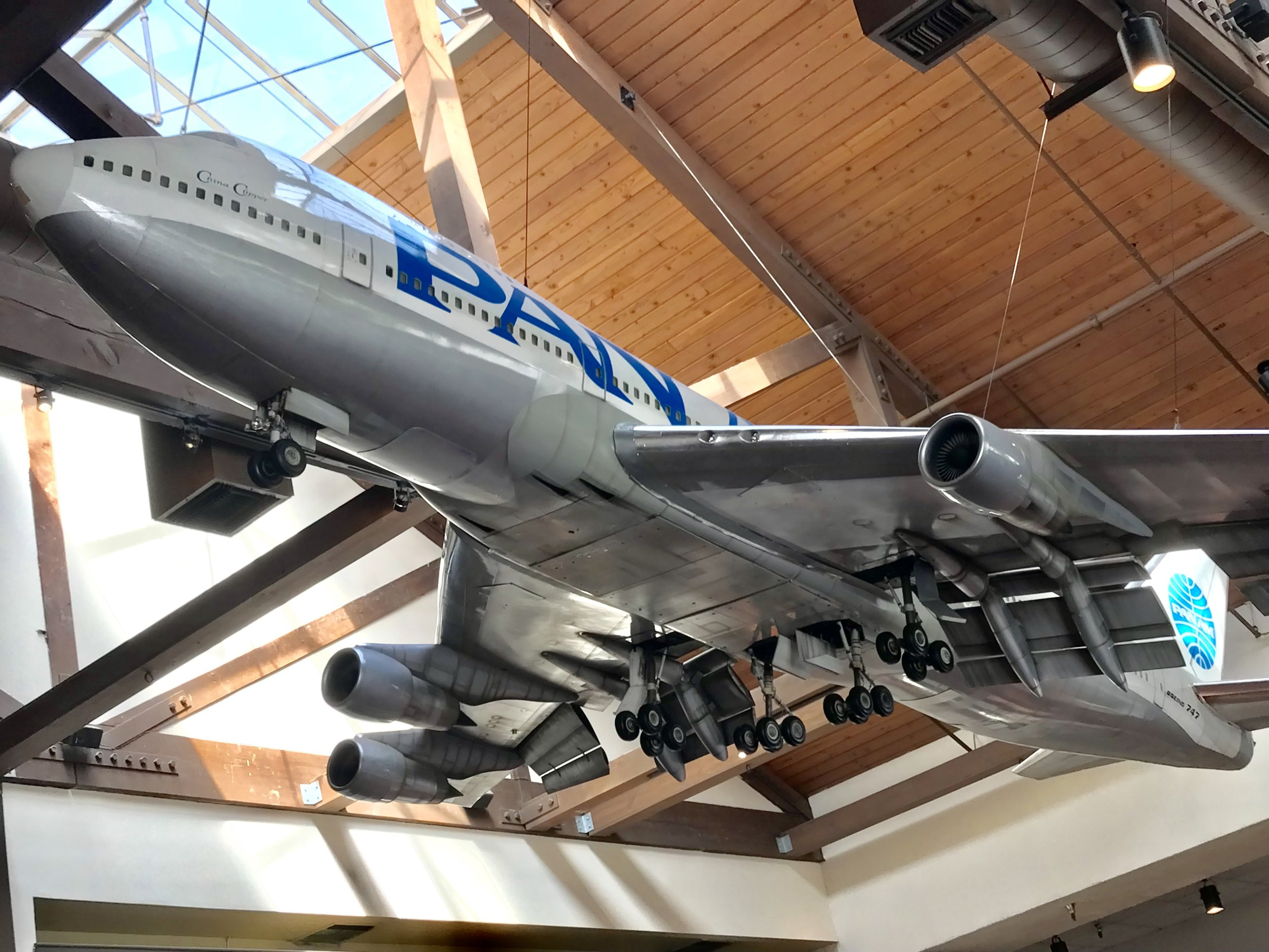 A 747 in the Lobby?