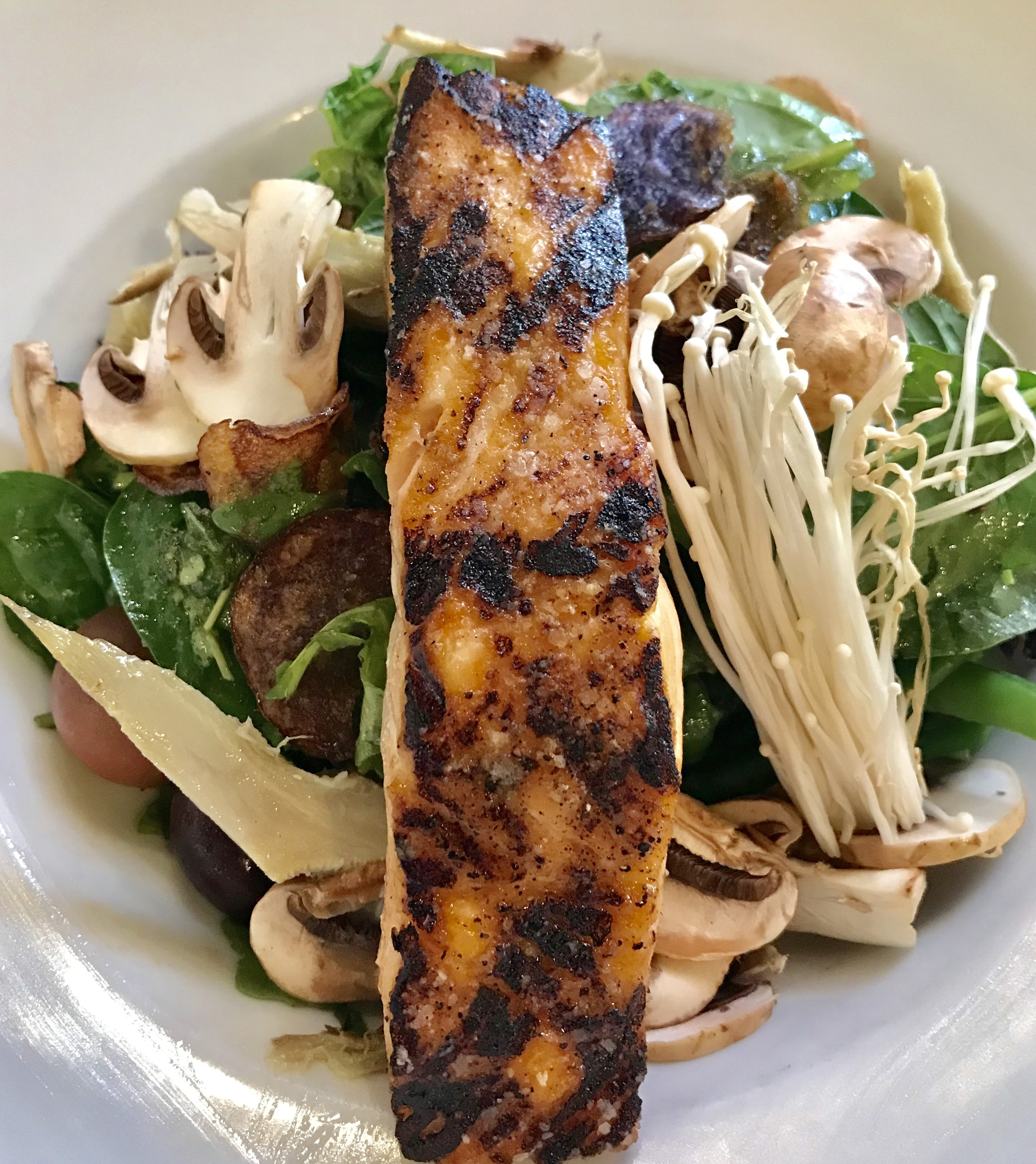 Grilled Salmon Salad @AirtelPlazaHotel