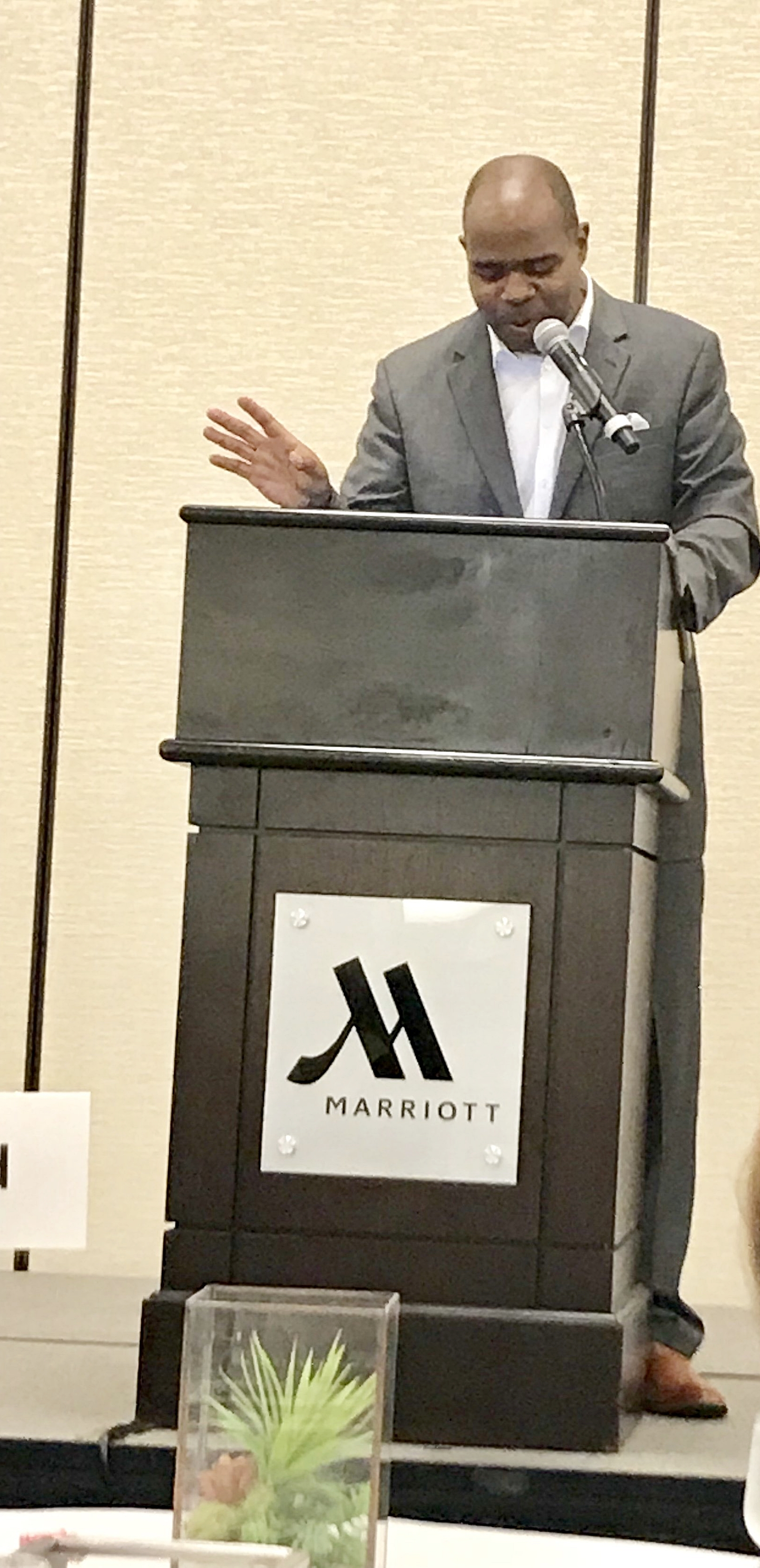 Speaking about Hotel Site Selection & Partnerships for a Successful Event! @MarriottNewportBeach