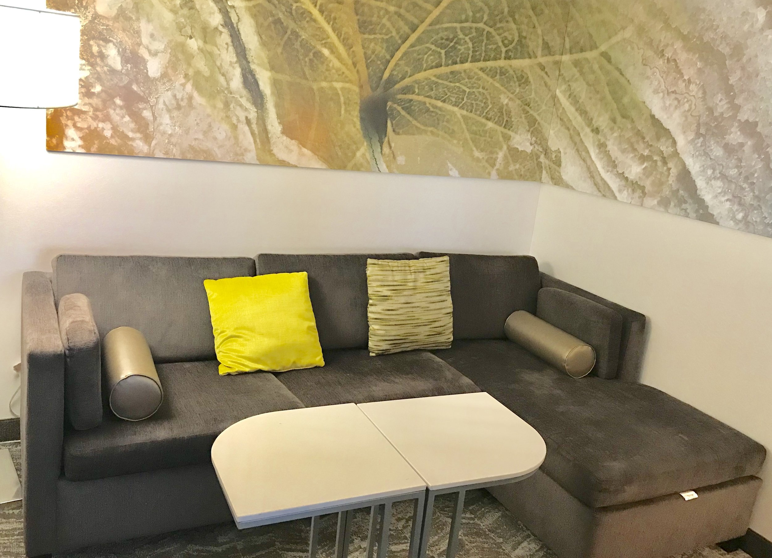 Guest Room sitting area @SpringHillSuites Anchorage, AK