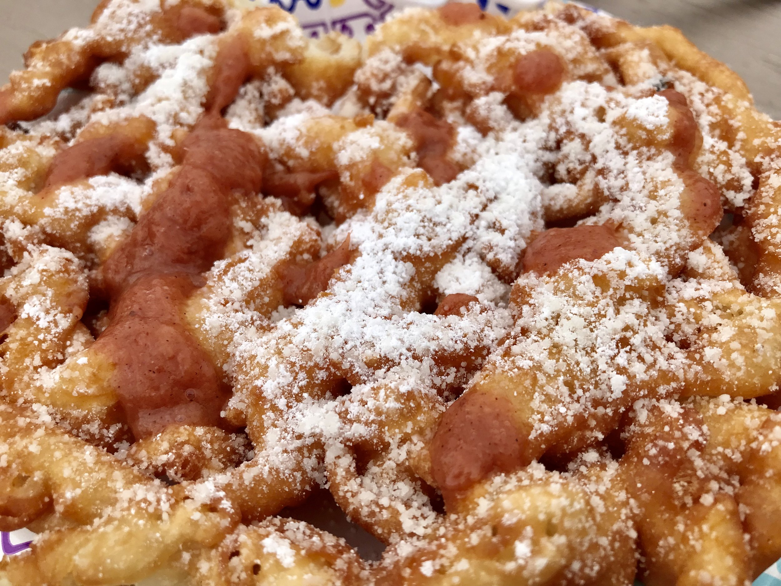 Funnel Cake @Achorage Weekend Market