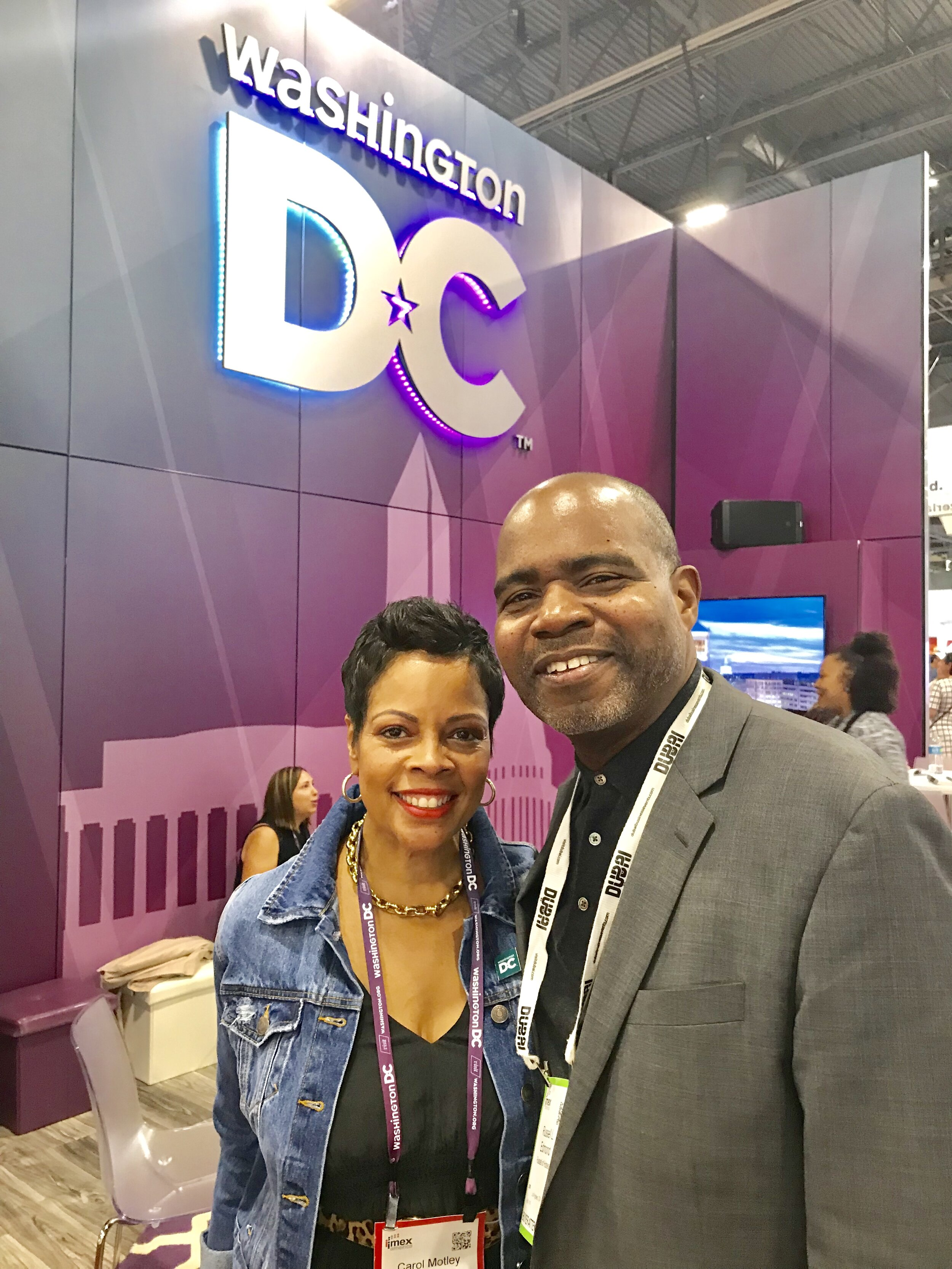 It's been 15 years since I've seen Ms. Carol Motley - Director of Convention Sales for Destination DC @IMEX19