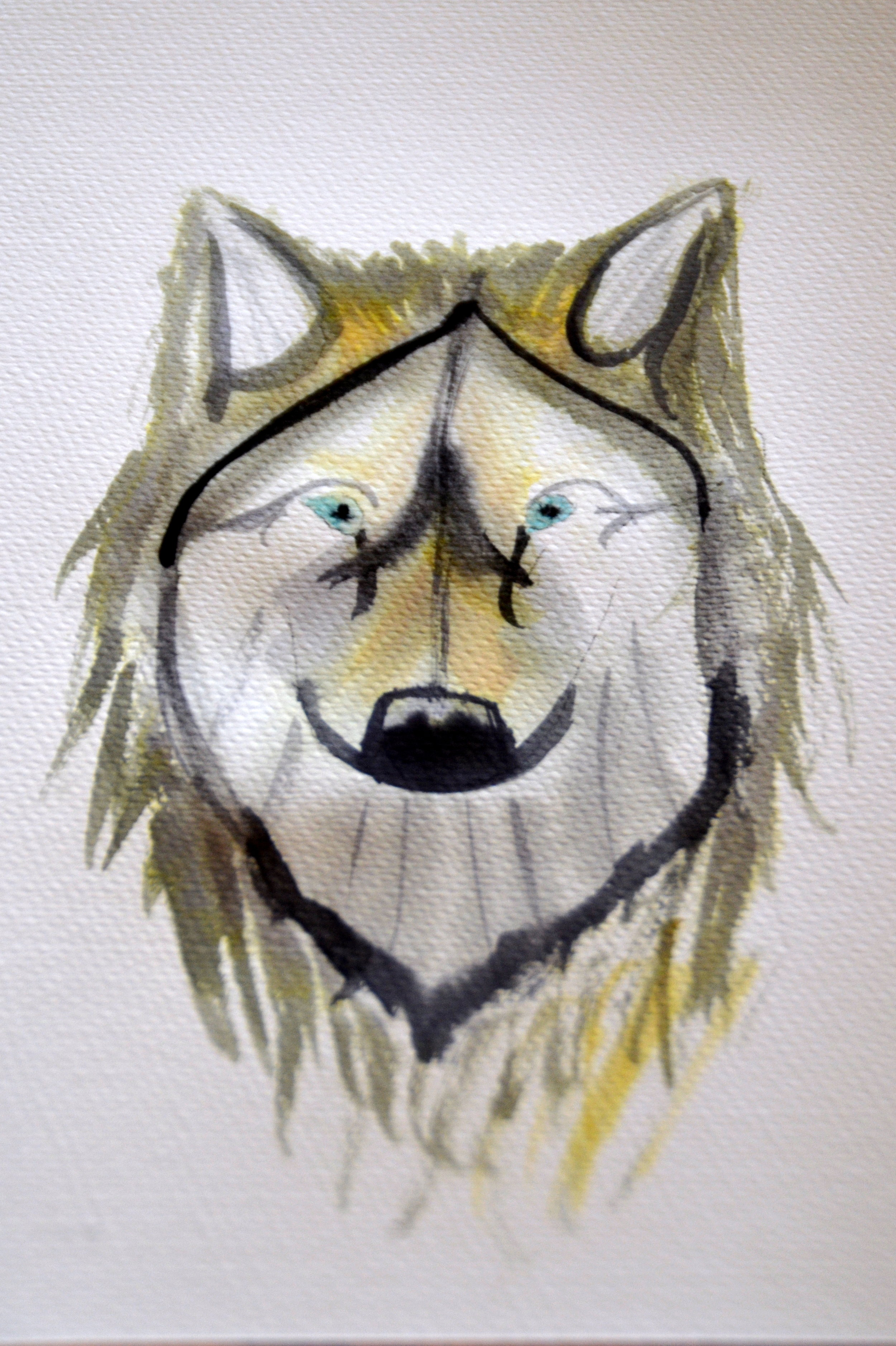 4x6_Wolf Dog Painting 2.JPG