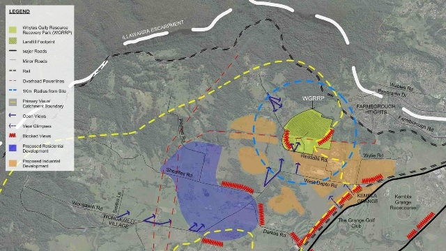 Whytes Gully Landfill Visual assessment