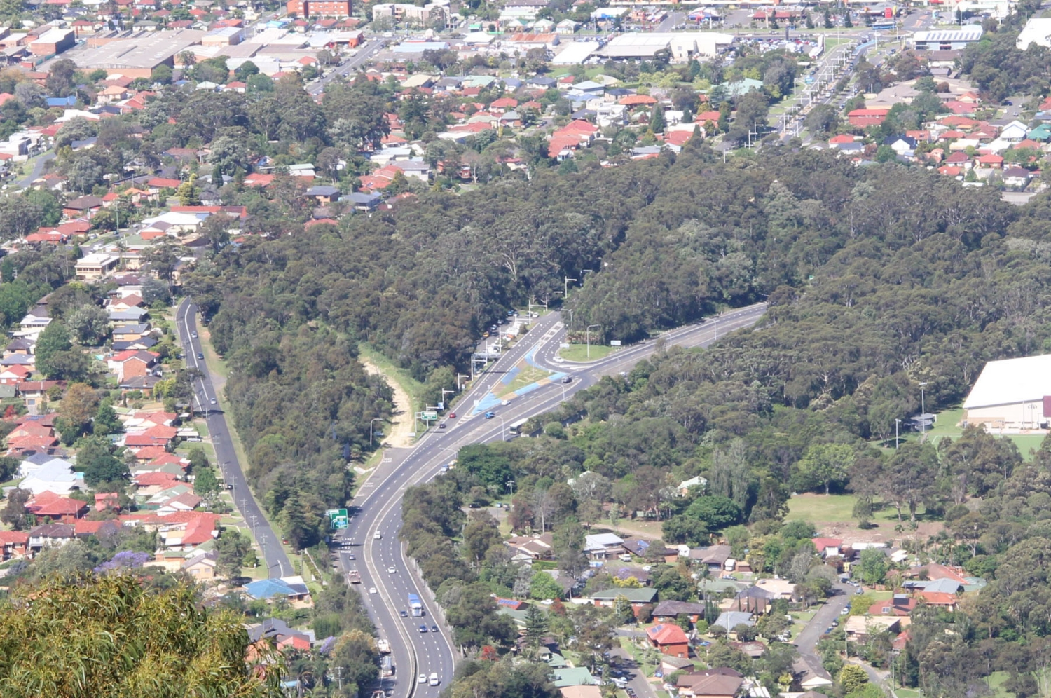 Mount Ousley - M1 Motorway - Proposed Interchange