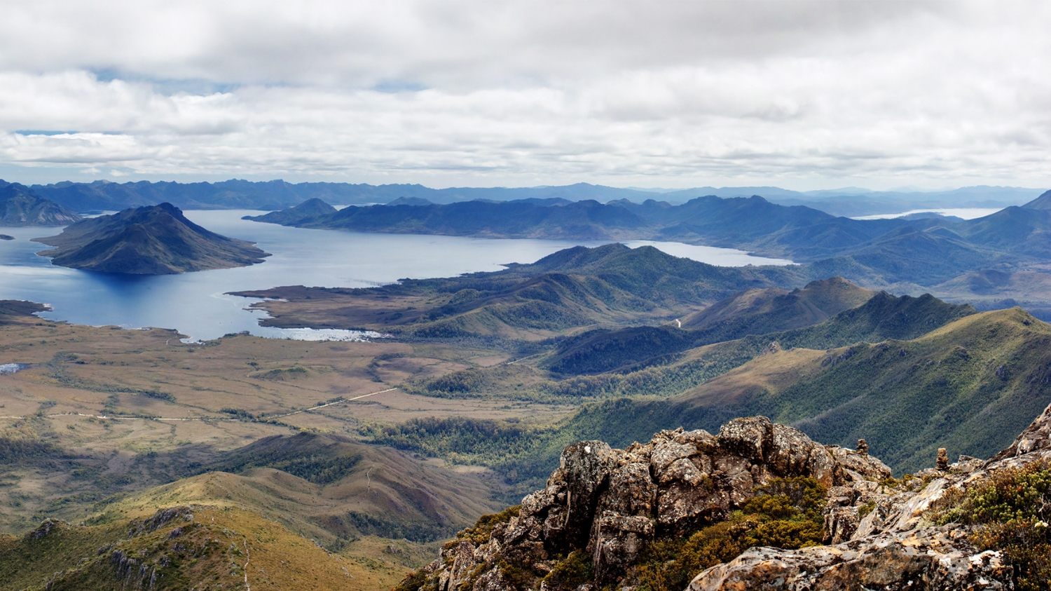 Lake Pedder Restoration Visualisation
