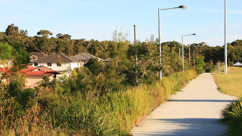boundary between sports field & residential development.jpg