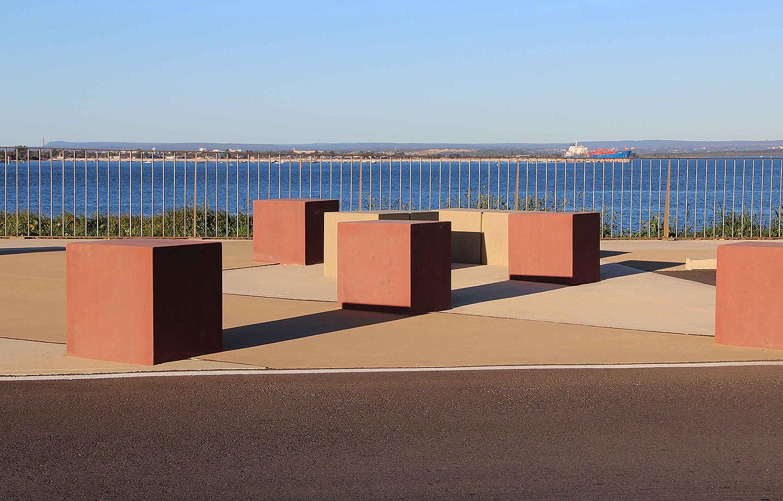 10-precast concrete bollard and safety rail allow for views across Botany Bay.jpg