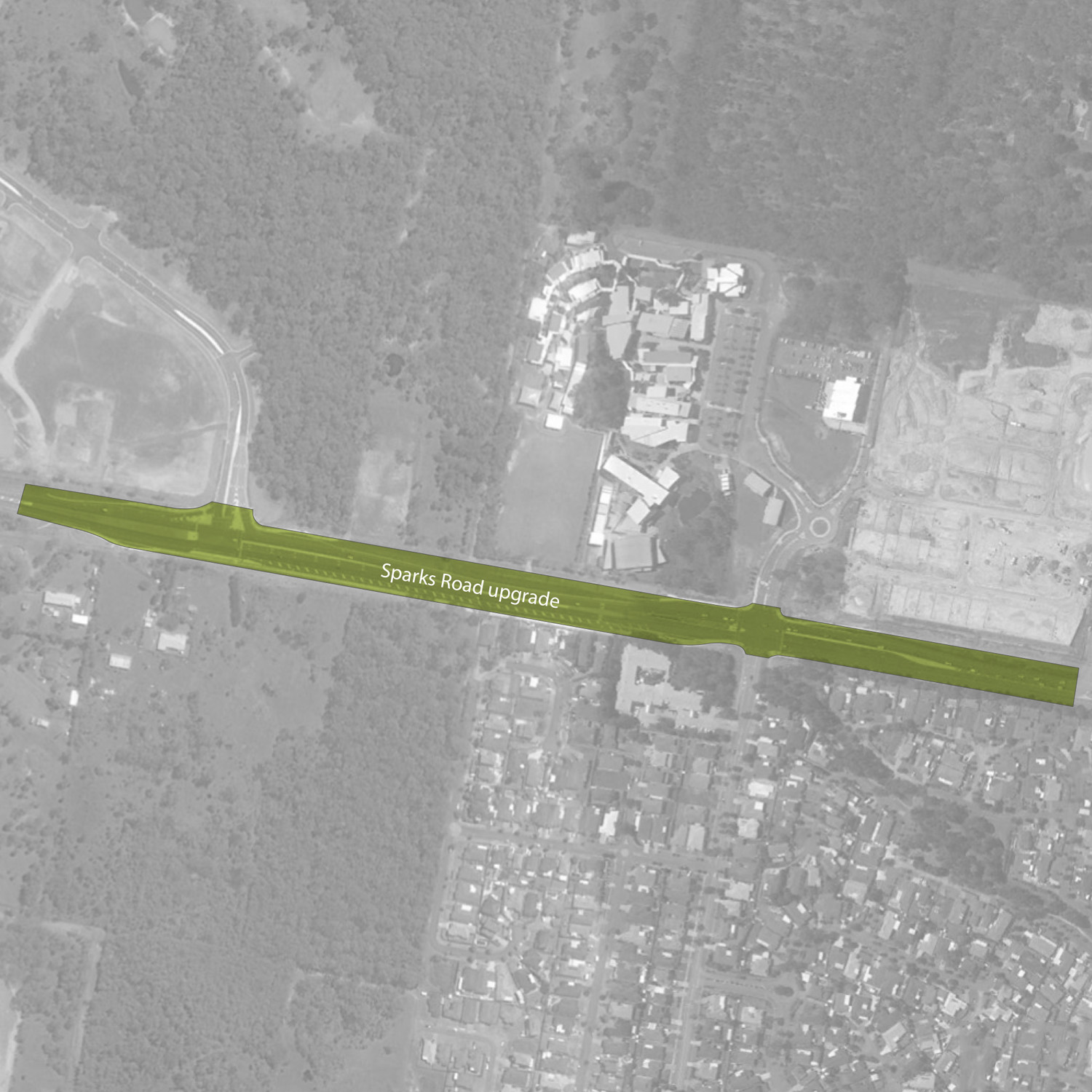Sparks Road Upgrade - Warnervale
