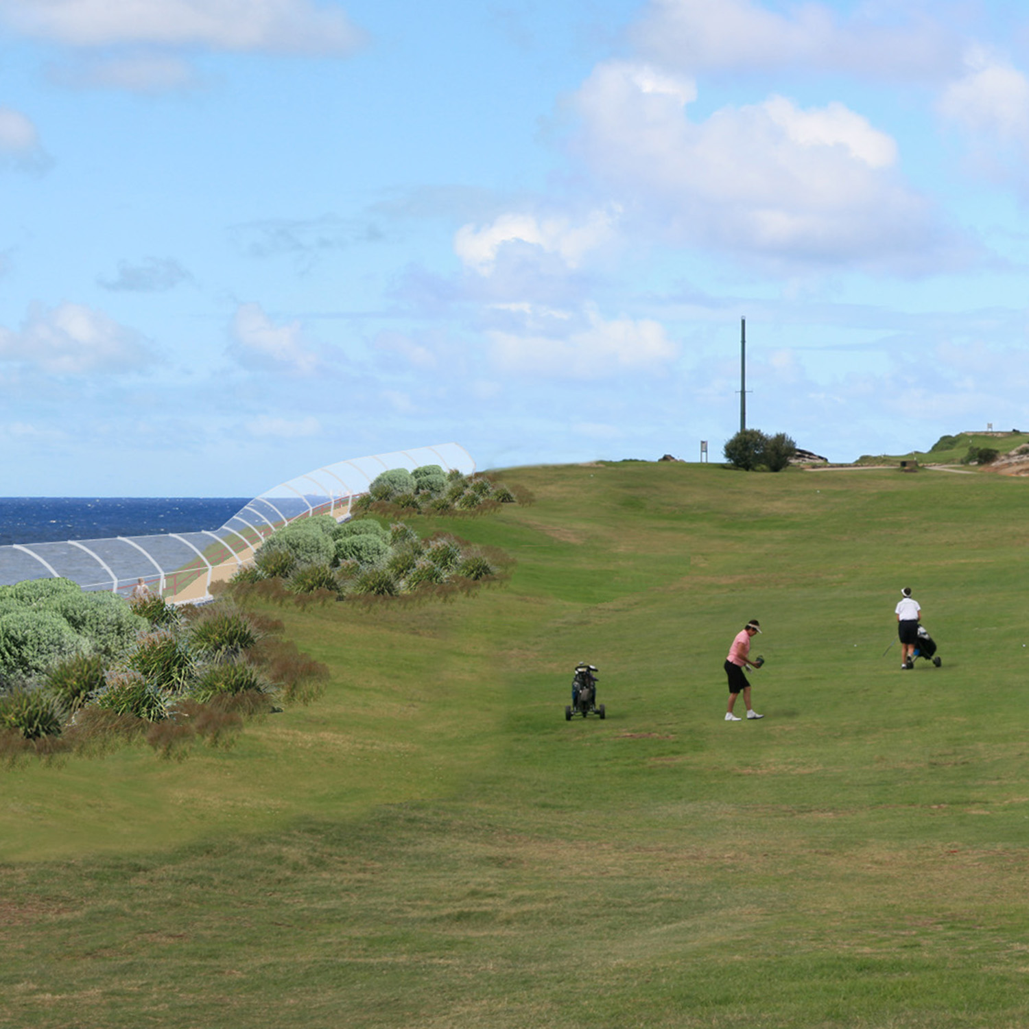 Coastal Walk - Randwick Golf Course